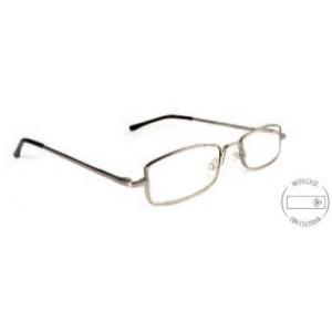 Vékony keretes szürke szemüveg