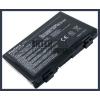 X8D series 4400 mAh 6 cella fekete notebook/laptop akku/akkumulátor utángyártott