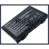 K61I 4400 mAh 6 cella fekete notebook/laptop akku/akkumulátor utángyártott