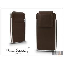 Pierre Cardin valódi bőrtok - Apple iPhone 4/4S - Type-5 - barna tok és táska