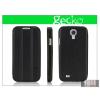 Gecko Samsung i9500 Galaxy S4 flipes bőrtok on/off funkcióval - Gecko Slim - black