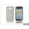 Haffner Samsung i8260 Galaxy Core szilikon hátlap - S-Line - transparent