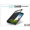 Eazy Case Samsung i9500 Galaxy S4 S View Cover flipes hátlap on/off funkcióval - EF-CI950BBEGWW utángyártott - black