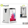 Muvit LG G3 S D722 hátlap - Muvit miniGel - white
