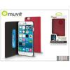 Muvit Apple iPhone 6 Plus flipes tok kártyatartóval - Muvit Slim and Stand - pink