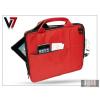 "Haffner Univerzális tablet táska 10"" - V7 Attache Case - piros"