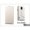 Kalaideng Samsung SM-G900 Galaxy S5 flipes tok - Kalaideng Swift Series - white