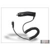 Samsung gyári micro USB szivargyújtós töltő - 5V/1A - ECA-U16C (csomagolás nélküli)