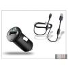 Sony Ericsson gyári USB szivargyújtós töltő adapter + micro USB adatkábel - 5V/1,2A - AN400+EC700 (csomagolás nélküli)