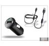 Sony Ericsson gyári USB szivargyújtós töltő adapter + micro USB adatkábel - 5V/1,2A - AN400+EC700 (csomagolás nélküli) mobiltelefon kellék