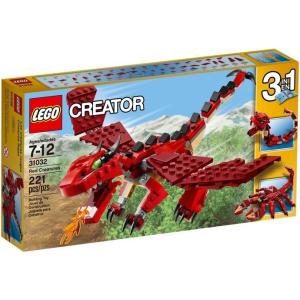 LEGO Creator Tűzvörös teremtmények 31032