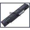 Samsung RV709 4400 mAh 6 cella fekete notebook/laptop akku/akkumulátor utángyártott