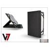 "V7 Apple iPad Mini/iPad Mini 2 + univerzális tablet tok 7-8"" méretű készülékig - V7 Universal Folio Stand - black"