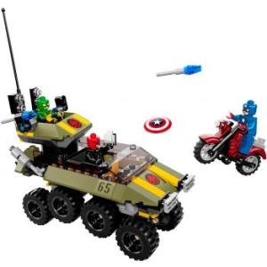 LEGO Super Heroes 76017 Amerika Kapitány Hydra ellen (5702015129039)