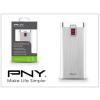 PNY Univerzális hordozható, asztali akkumulátor töltő - PNY BD5200 Power Bank - 5200 mAh - alu silver