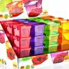 Bandy Plastics Szögletes bonbon tároló 550 ml