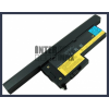 IBM ThinkPad X60s 1703 4400 mAh 8 cella fekete notebook/laptop akku/akkumulátor utángyártott