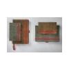 SIGEL Jegyzetfüzet, exkluzív, A6, vonalas, 194 oldal, SIGEL Conceptum Vintage, szürke