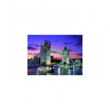Tower Tower Bridge NEON 1000 db-os puzzle puzzle, kirakós