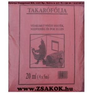 Competent Takarófólia piros