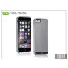 CASE-MATE Apple iPhone 6 Plus hátlap - Case-Mate Brushed Aluminium - silver