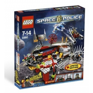 LEGO Space Police Squidman's Pitstop 5980