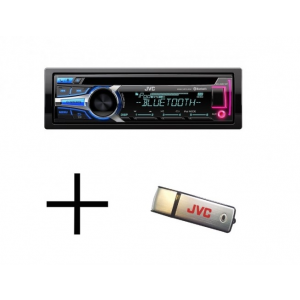 JVC KD-R951 + 8GB USB MP3/CD/USB/BLUETOOTH-os fejegység