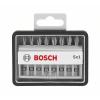 Bosch Bosch 2607002558 Csavarozó bit készlet Robust Line Sx extrakemény, 8 részes, 49 mm, Ph, Pz