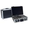 Dörr Aluminum Case Titan 38 alukoffer előmetszett szivacsbetéttel és elválasztókkal, titánszürke