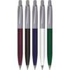 VICTORIA Golyóstoll, 0,7 mm, nyomógombos, fém-műanyag tolltest, VICTORIA, kék