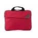 . Irattáska notebook tartóval, 600D piros