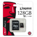 Kingston micro SDXC 128GB Class 10 UHS-I + adapter