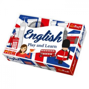 Trefl Játék Play and Learn - English