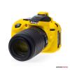 EasyCover szilikon védőtok Nikon D5300 sárga