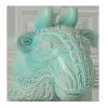 Zsolnay 4023 bikafej.vízköpő