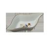 Zsolnay ROMBUSZ KÍNÁLÓTÁL 0194/059 tányér és evőeszköz