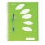 REXEL Spirálfüzet, A4, vonalas, 250 lap, 5 részes, REXEL