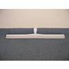 Műanyag víztoló fehér gumival, 45 cm