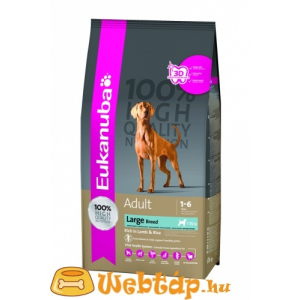 Eukanuba Adult rich in Lamb & Rice, Large Breeds 2,5 kg