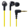 Audio technica Audio-Technica ATH-CK323MYL In-ear fülhallgató, Sárga  (ATH-CK323MYL)