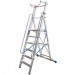 KRAUSE - Stabilo lépcsőfokos állólétra nagy dobogóval és kapaszkodókerettel 12 fokos (profi)