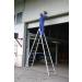KRAUSE - Stabilo két oldalon járható biztonsági létra 2x12 fokos (profi)