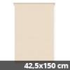Mini roló, homokszín, ablakra: 42,5x150 cm
