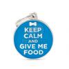 My family biléta - Keep Calm and Give Me Food 1 db (CH17KEEPFOOD)