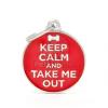 My family biléta - Keep Calm and Take Me Out 1 db (CH17KEEPOUT)