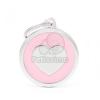 My family biléta - Classic Szív 1 db pink (CH17PINKHEART)