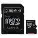 Kingston Micro SDXC 64GB CL10 UHS-I +adapter