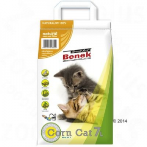 Benek Super Benek Corn Cat Natural - 7 l