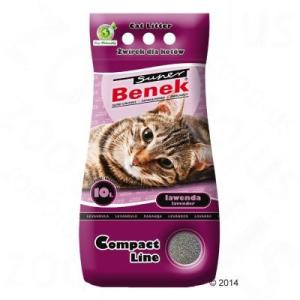 Benek Super Benek Compact levendula - 10 l