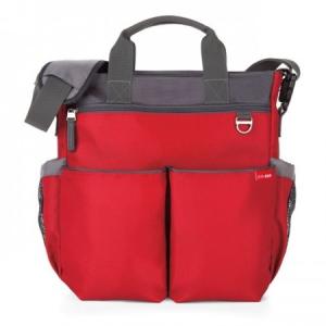 Skip hop Duo Signature pelenkázó táska - Red
